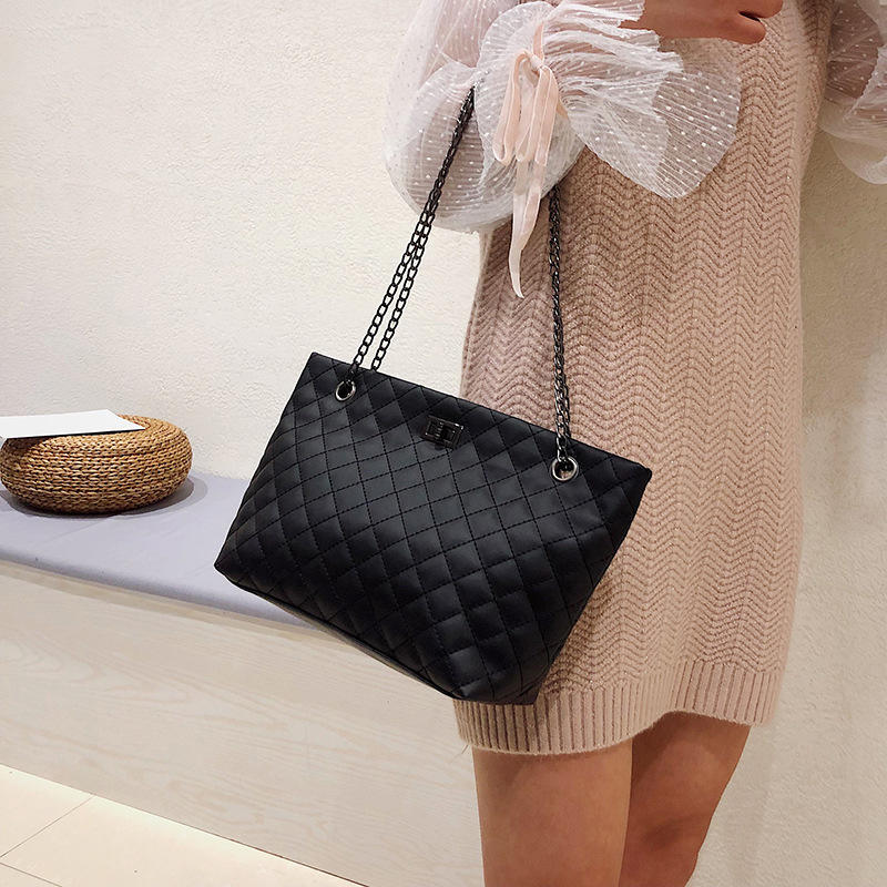 2020 New wholesale women bags leather shoulder bagbrand PU zipper large capacity bow handbags ladies