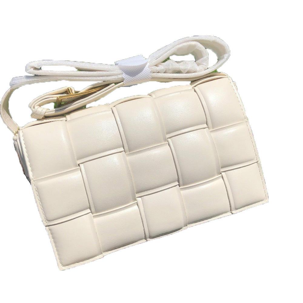 Weave Flap Bags Square Cross body bag 2020 New High quality PU Leather Women's Designer Handbag Travel Shoulder Messenger Bag