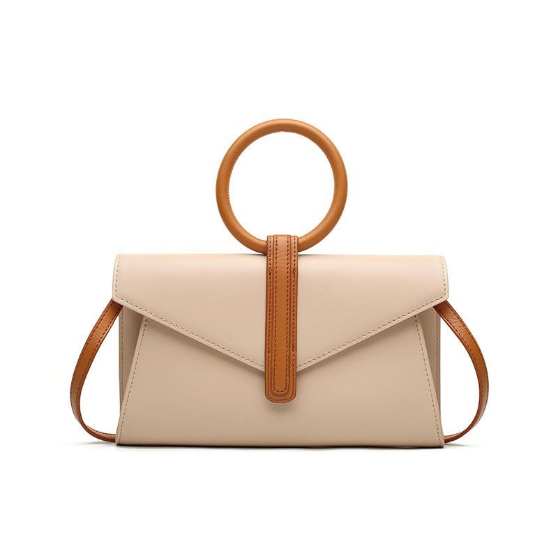 Designers Handbag Women Cross-body Shoulder Bag with Round Handle