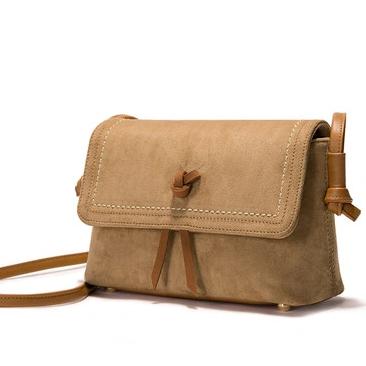 Fashion Ladies Suede PU Crossbody Satchel BagWomen Christmas Gifts Clutch Handbag