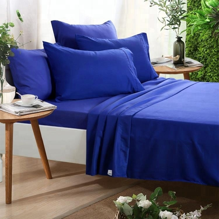copper fabric King size bed sheet
