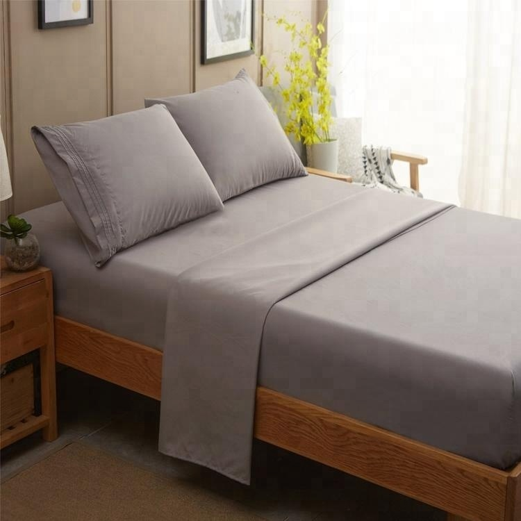 cheap copper fabric bed bedspreads sheets for hospital beds