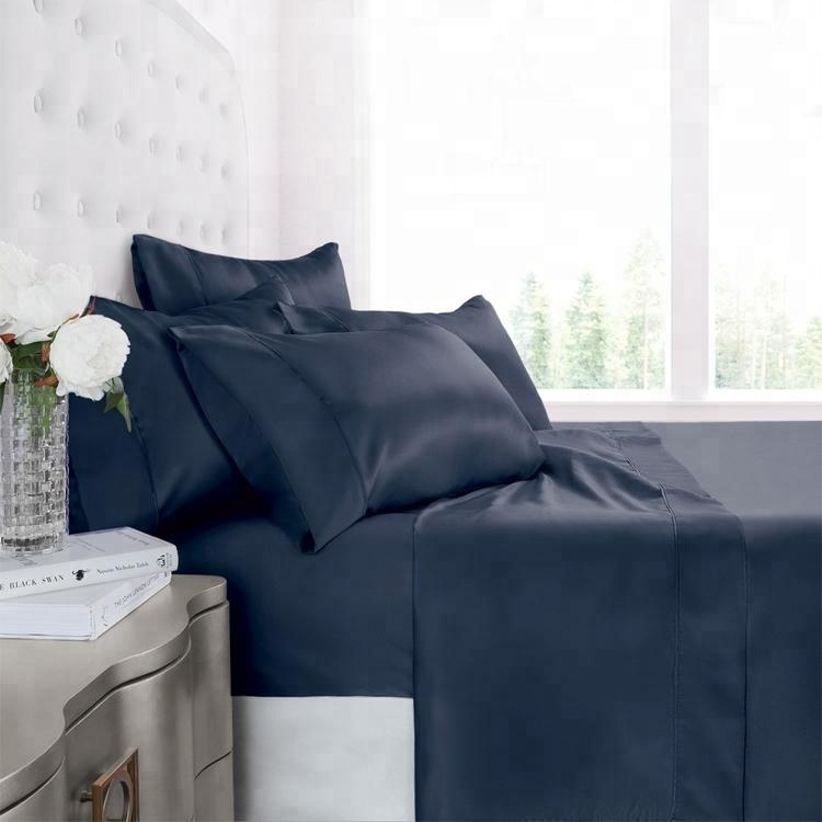 cotton fitted bed sheet set white percale