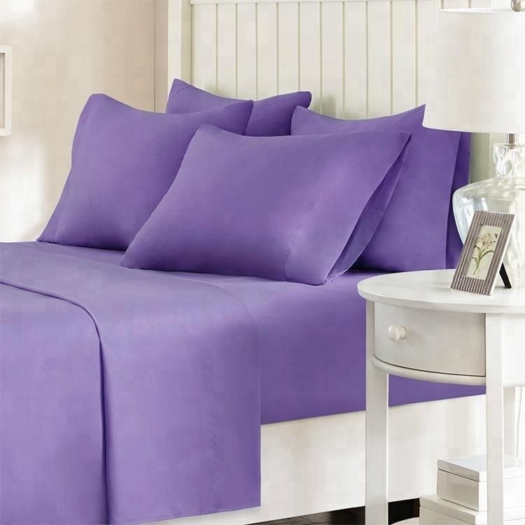 cheap 100% copper cotton fabric black bedding sheet set queen uk