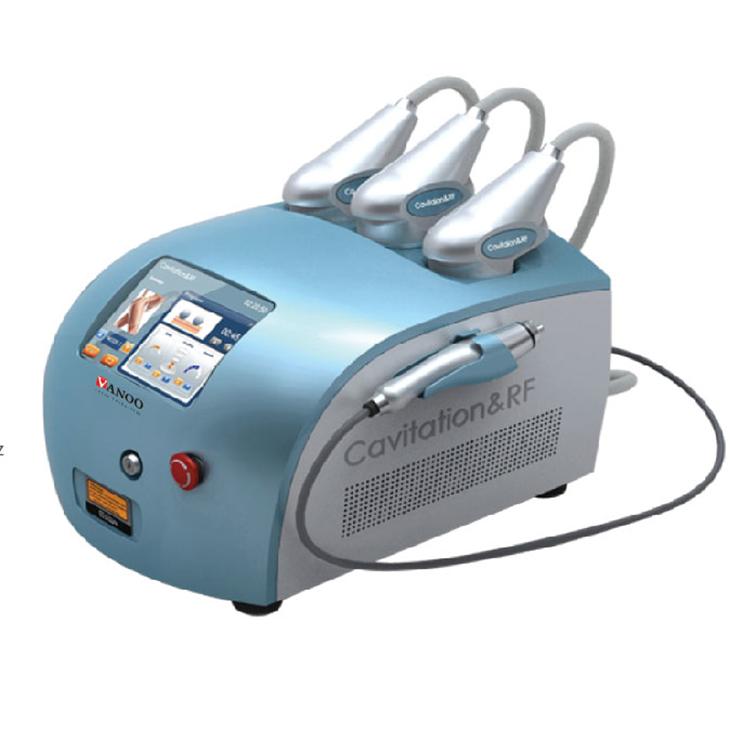 Vanoo Salon vacuum Cavitation+RF slim beauty machine with therapy system