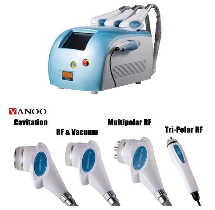 Best price ultrasonic RF Vacuum Cavitation System Body Face Slimming machine