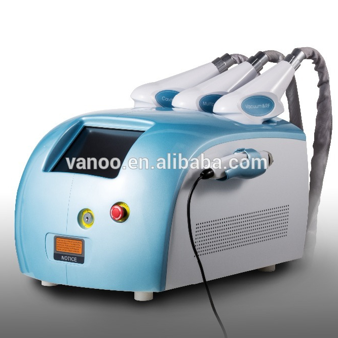 Multifunctional cavitation RF slimming machine with CE
