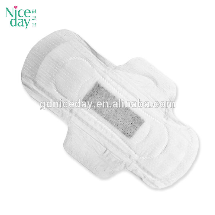 2018 new products on market cotton lady herb sanitary pad