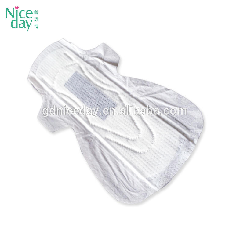 2018 making herbal medicated night use disposable breathable anion sanitary napkins in africa and japan