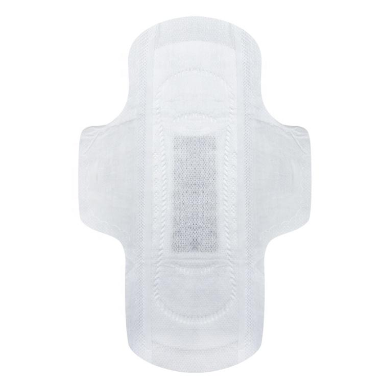 Healthy woman herbal sanitary pad organic cotton pads medical aluminum foil wrap
