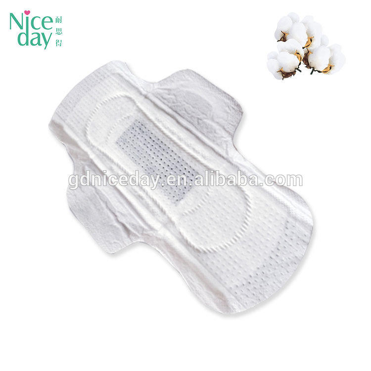 2018 Wholesale Branded Ladies Pad Size Biodegradable Day Use Disposable Regular Use Winged Women Cloth Breathable