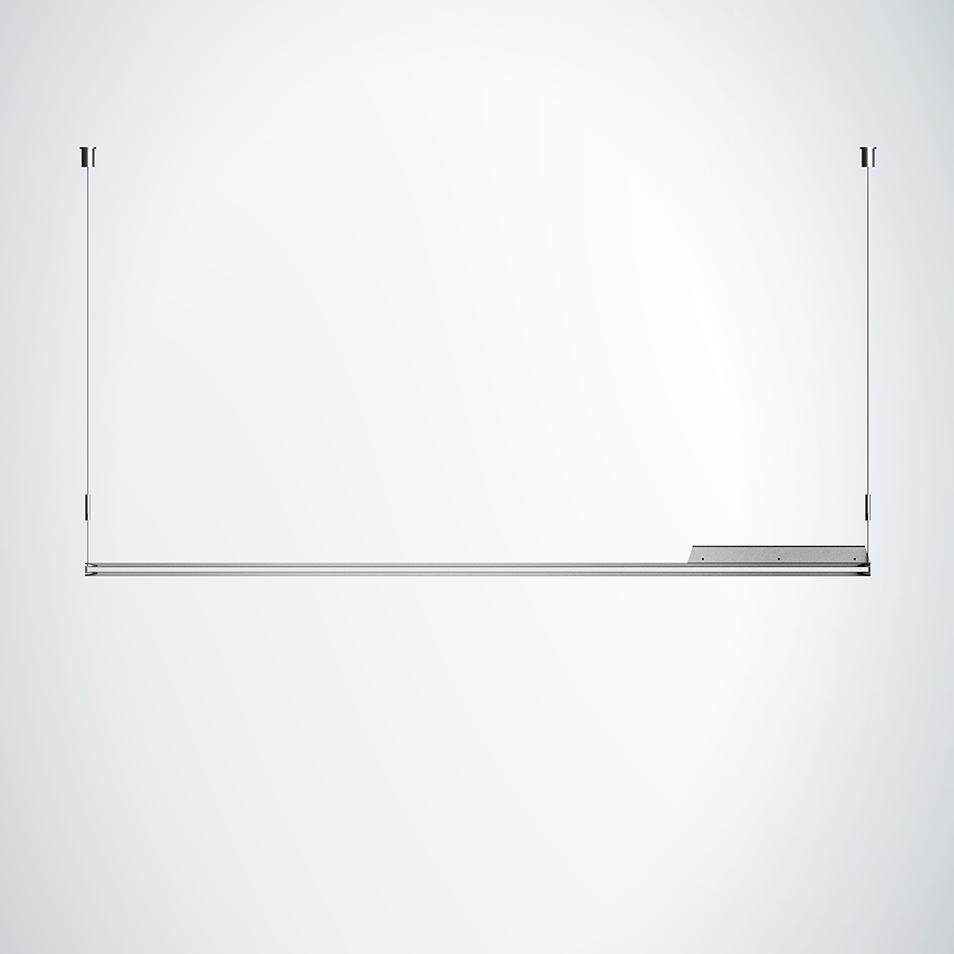 220v 1200*300mm Edgelux frameless changing for office led square panel light