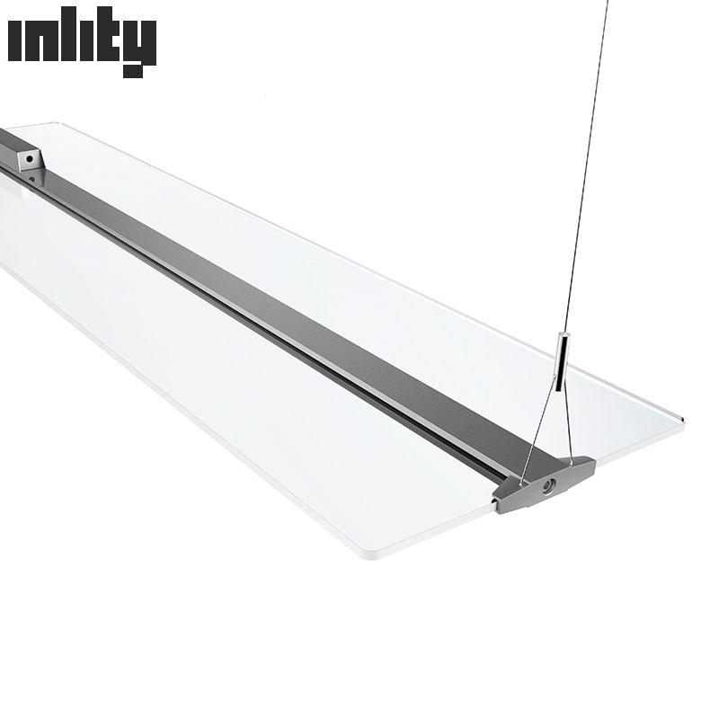 Hot Sale Clear Panel Light 48W 5000k Dimmable Panel Light 1200MM Office Suspend Led Panel Light