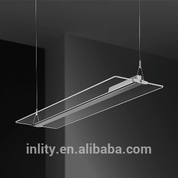 48W LED Panel Light Price Office Hanging Light Fixture Suspended Mounted Totally Clear LED Panel Light