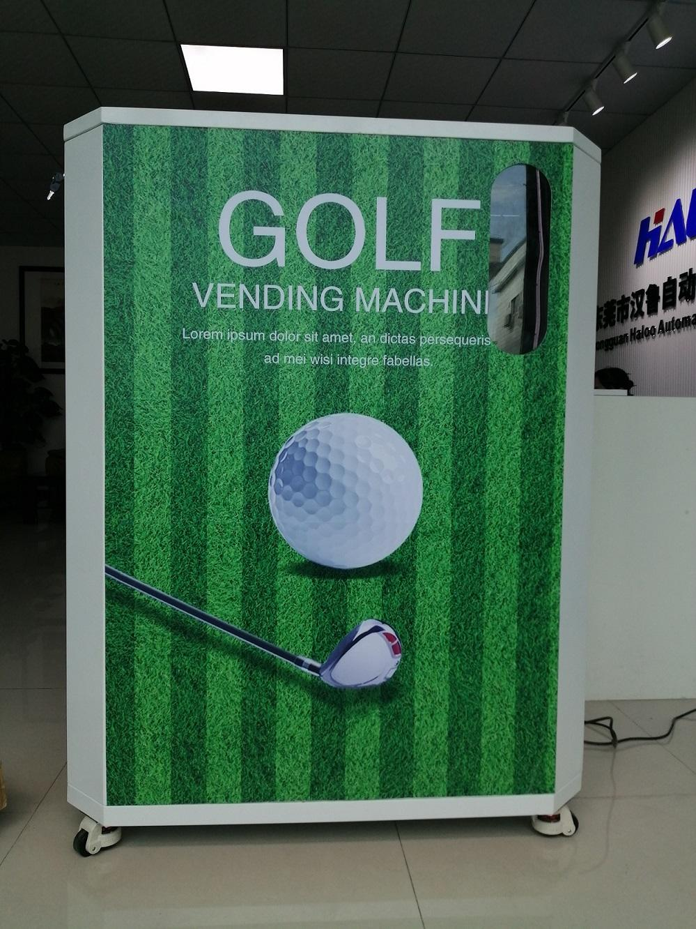 new golf machine and ball dispenser for golf driving club