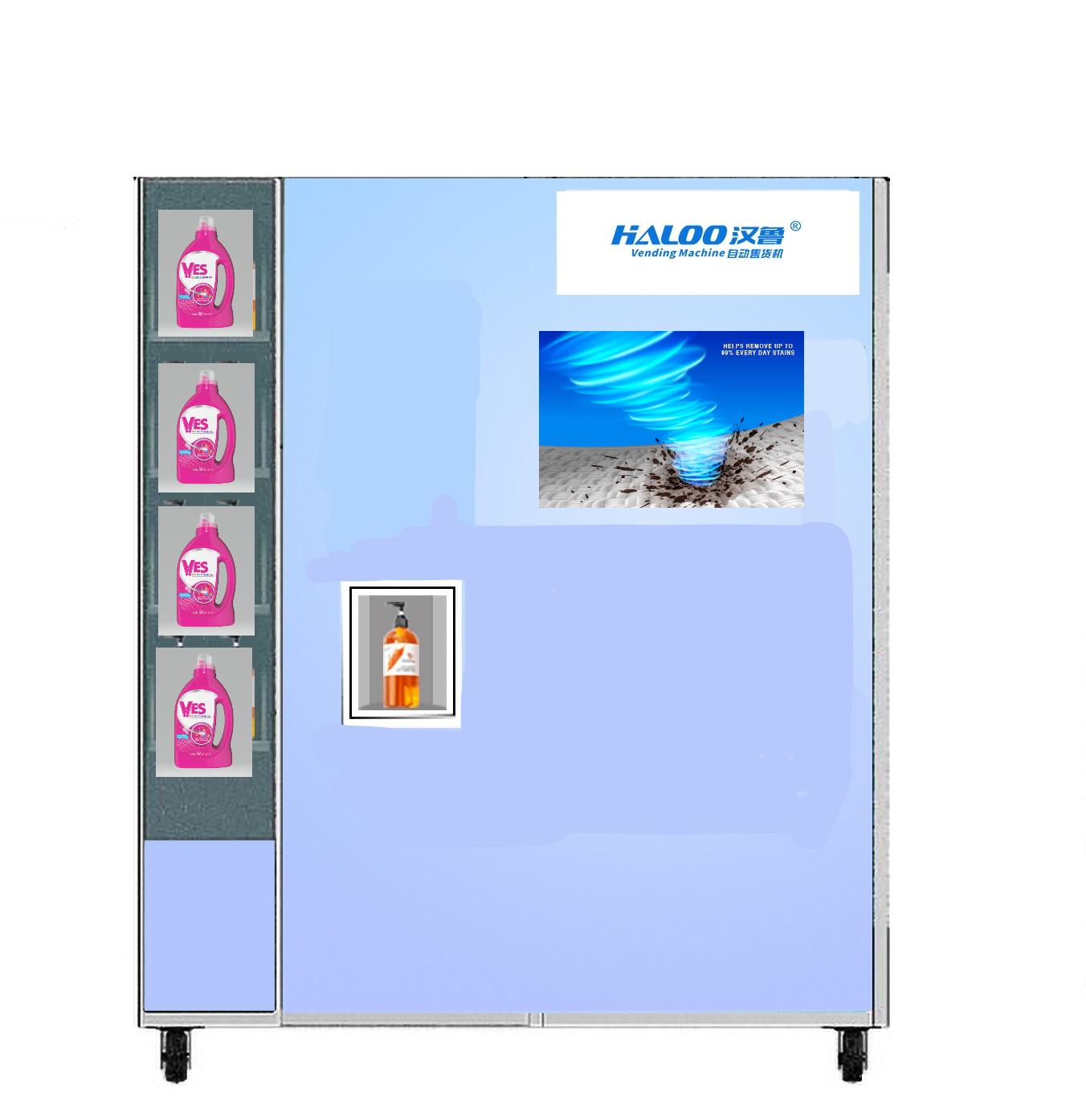 laundry detergent refill machine