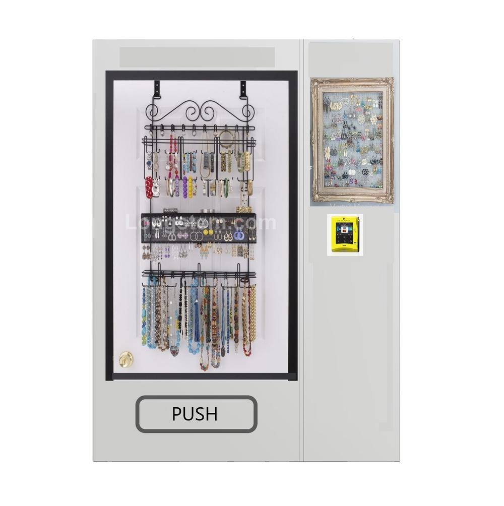 silver souvenir vending machine and jewelry vending machine