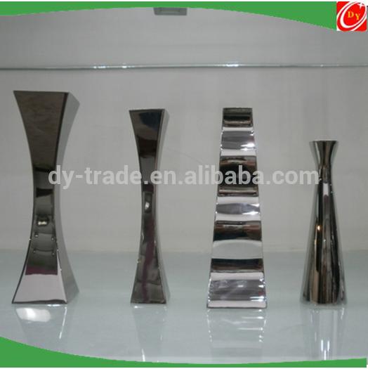 Various shape stainless steel flower planter/flower pots /vase