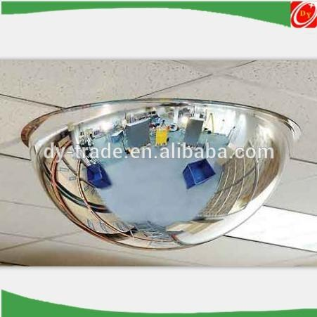 Stainless Steel Dome Mirror Ceiling