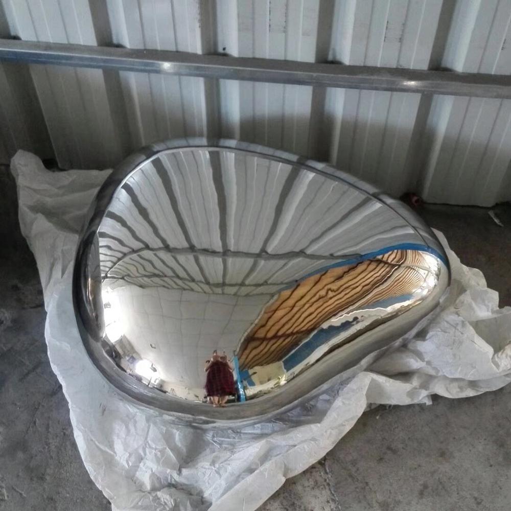 Outdoor Stainless Steel swim ringSculpture