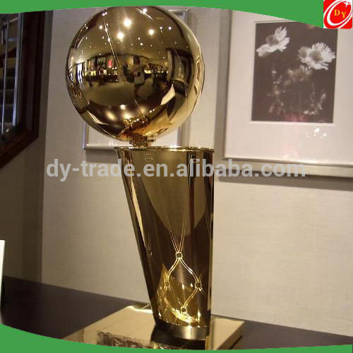 Gold Championship Stainless Steel Trophy