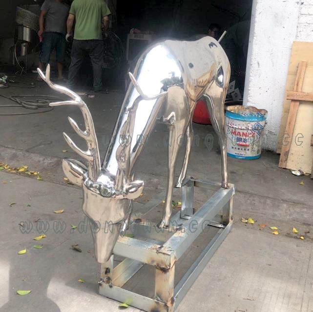 Stainless SteelDeer Moose Elkfor Animal Decorative Artwok