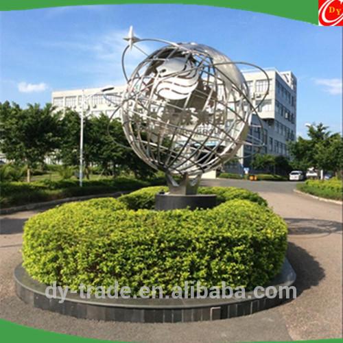 3000mm Large Stainless Steel World Map Globe/Wrought Art Ball