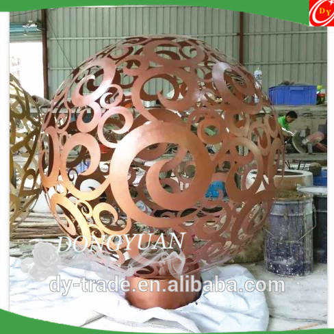 stainless steel sculpture and statue for indoor decoration