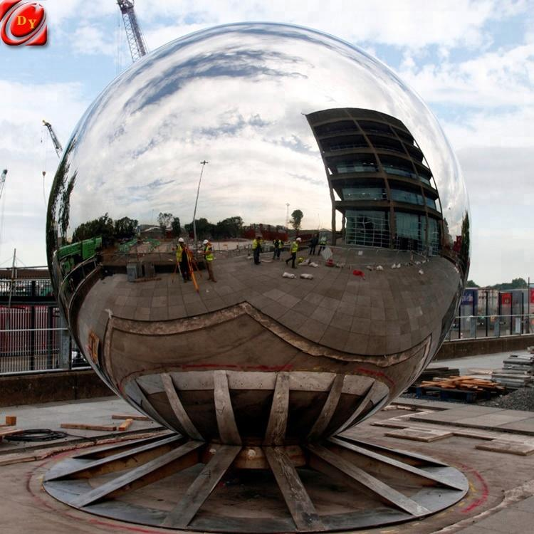 36 Inch Stainless Steel Decoration Ball Sculpture for Sale