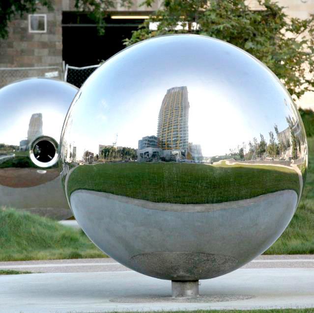 Rust Proof Gazing Stainless Steel Ball Garden