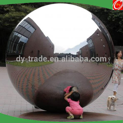 Landscaping Monument Polished Outdoor Large Stainless Steel Sculpture