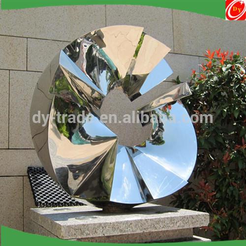 Celebration stainless steel sculpture