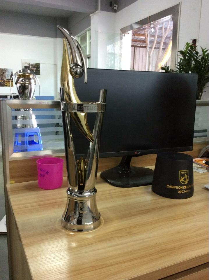 Metal Football Award Trophy