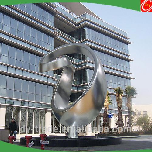 Large stainless steel abstract sculpture ,outdoor steel art sculptures