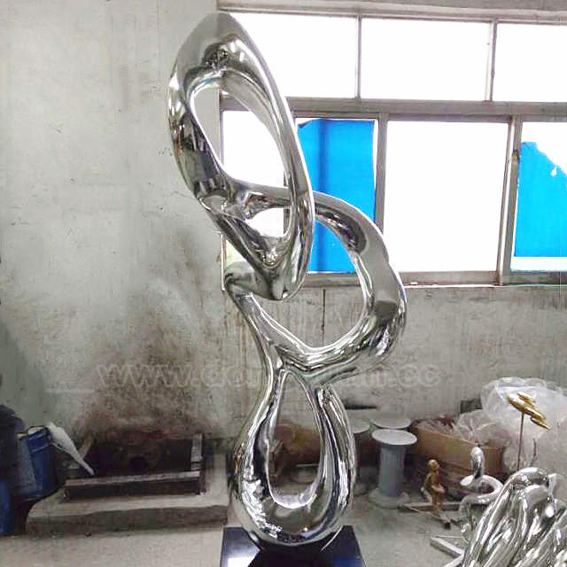Top Grade Polish Stainless Steel Craft for Table Decoration