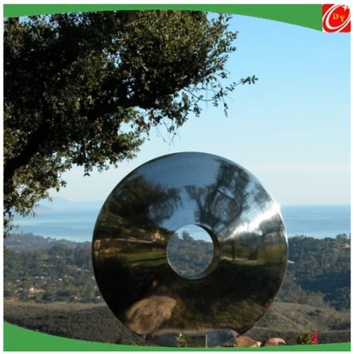 Mirror stainless steel gazing ball,stainless steel garden sphere/ball/sculpture