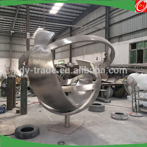 Large abstract stainless steel sculpture for garden ,park ,hotel decoration