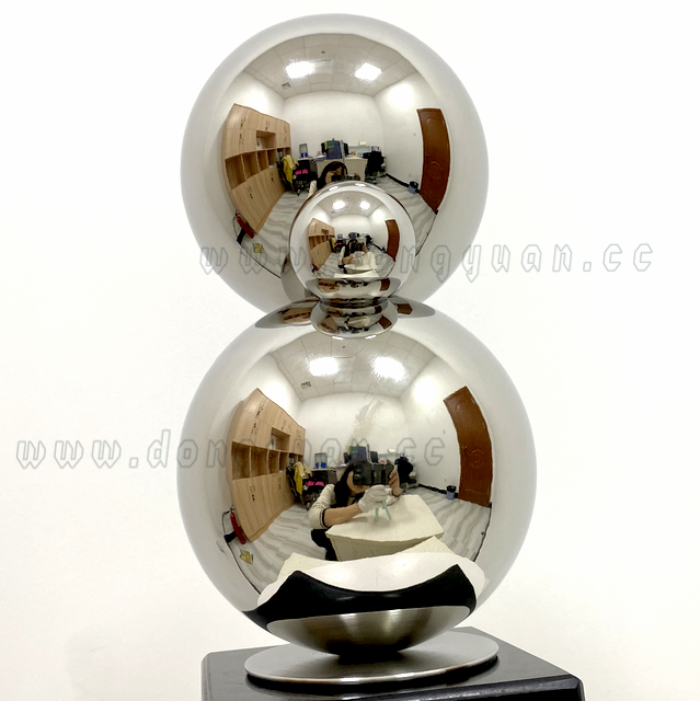 Stainless Steel Modern Abstract Sculpture Decoration, Home Living Room Office Hotel Handmade Statue Art Crafts