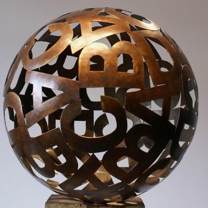 600*800mm Stainless Steel Water Drop Sculpture