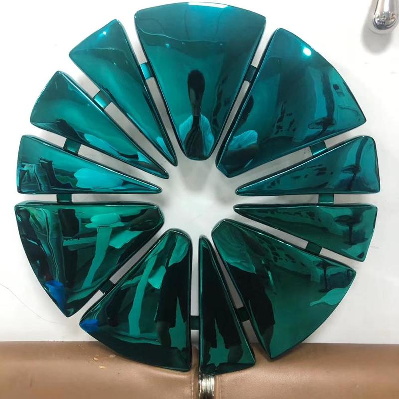 Stainless Steel MetalArt Sculpture For Wall Decoration