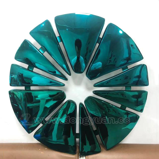 Stainless Steel Wall DecorationSculpture , Metal Flowers for Crafts