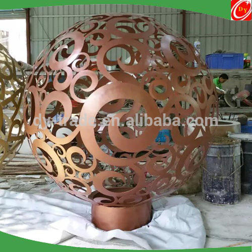 Modern Custom Abstract Sculptures for Hotel Lobby and Garden