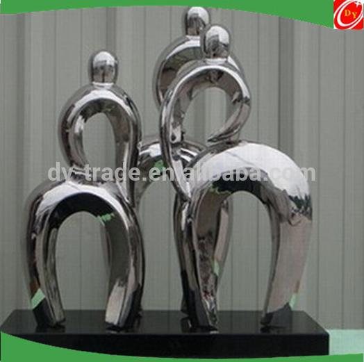 Stainless steel Figure sculpture /statue ,Abstract metal sculpture