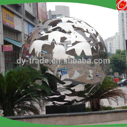 Custom Fountain Stainless Steel Sculpture