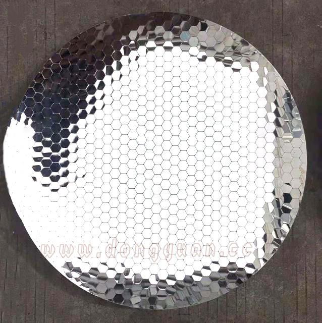 Modern 8K Stainless Steel HemisphereWall Art Sculpture