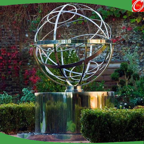 Stainless Steel Decorative Armillary Sphere