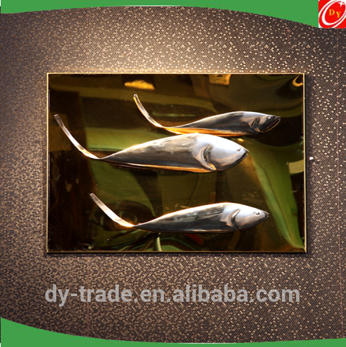 Modern style abstract stainless steel sculpture ,elephant /fish/bird animal sculpture