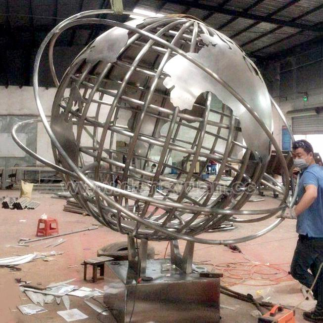High Quality Stainless Steel World Globe