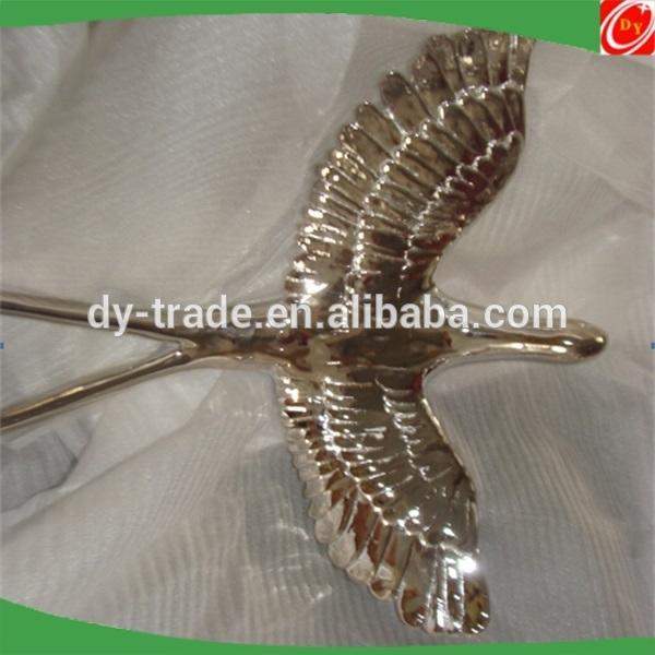 Garden Ornaments decorative bird animal Stainless Steel Sculpture