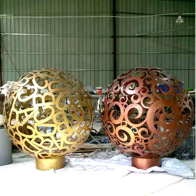 Modern Art Stainless Steel Metal Sculpture Home and Garden Steel Sculpture OEM/ODM Factory